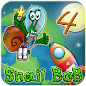 Snail Bob 4 Space Travel