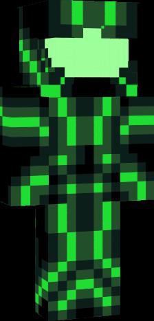 Green Tron Nova Skin
