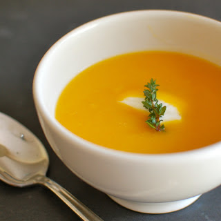 Butternut Squash with White Bean Soup