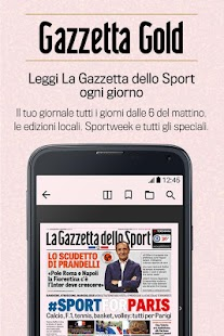 Gazzetta Gold Screenshot