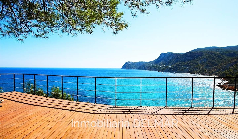 Maison avec piscine et terrasse Es Cubells