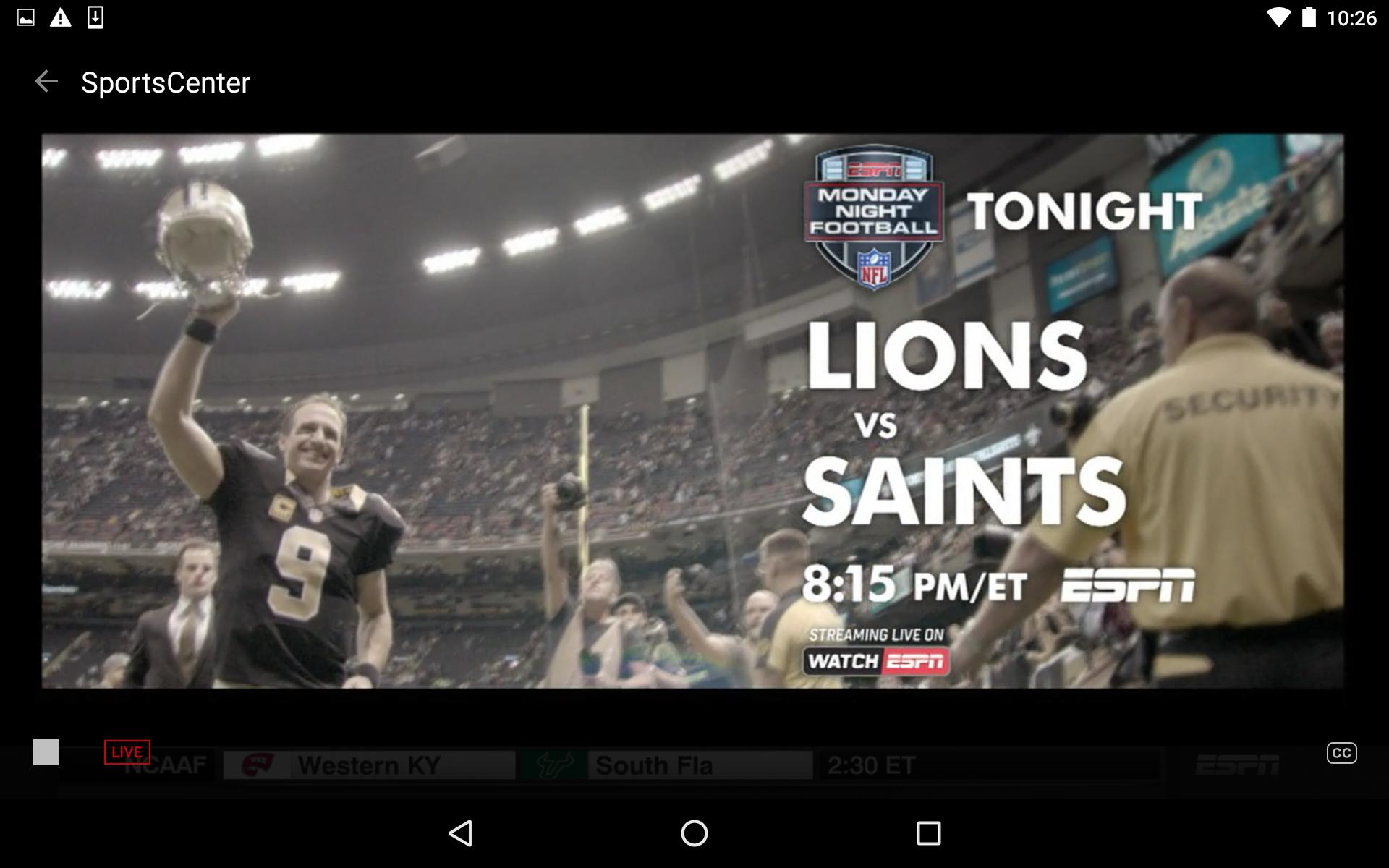 ESPN screenshot #17