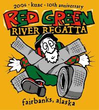 "Photo: KUAC ""Red Green Regatta"" tshirt design"