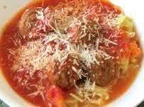 Roasted Spaghetti Squash w/ Tomato-Garlic