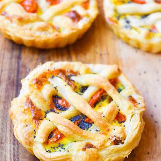 Vegetable Ricotta Quick Mini Pies