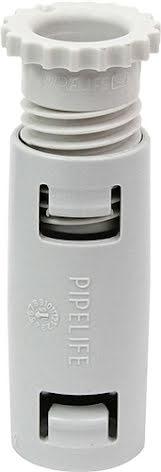 Pipelife Skarvmuff med skruvlås 16mm Grå