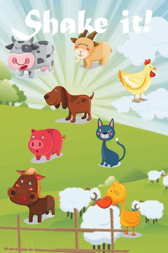动物的叫声:宝宝的游戏