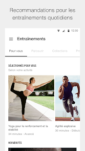 Nike Training Club – Entraînements et fitness Capture d'écran