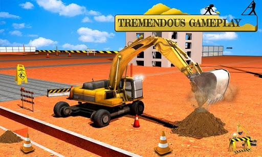建物の基礎掘削