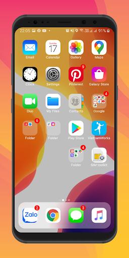 Launcher iOS 14 screenshot 1