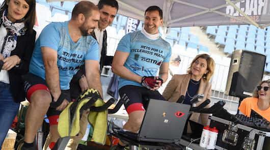 30 horas en bici contra la esclerosis múltiple