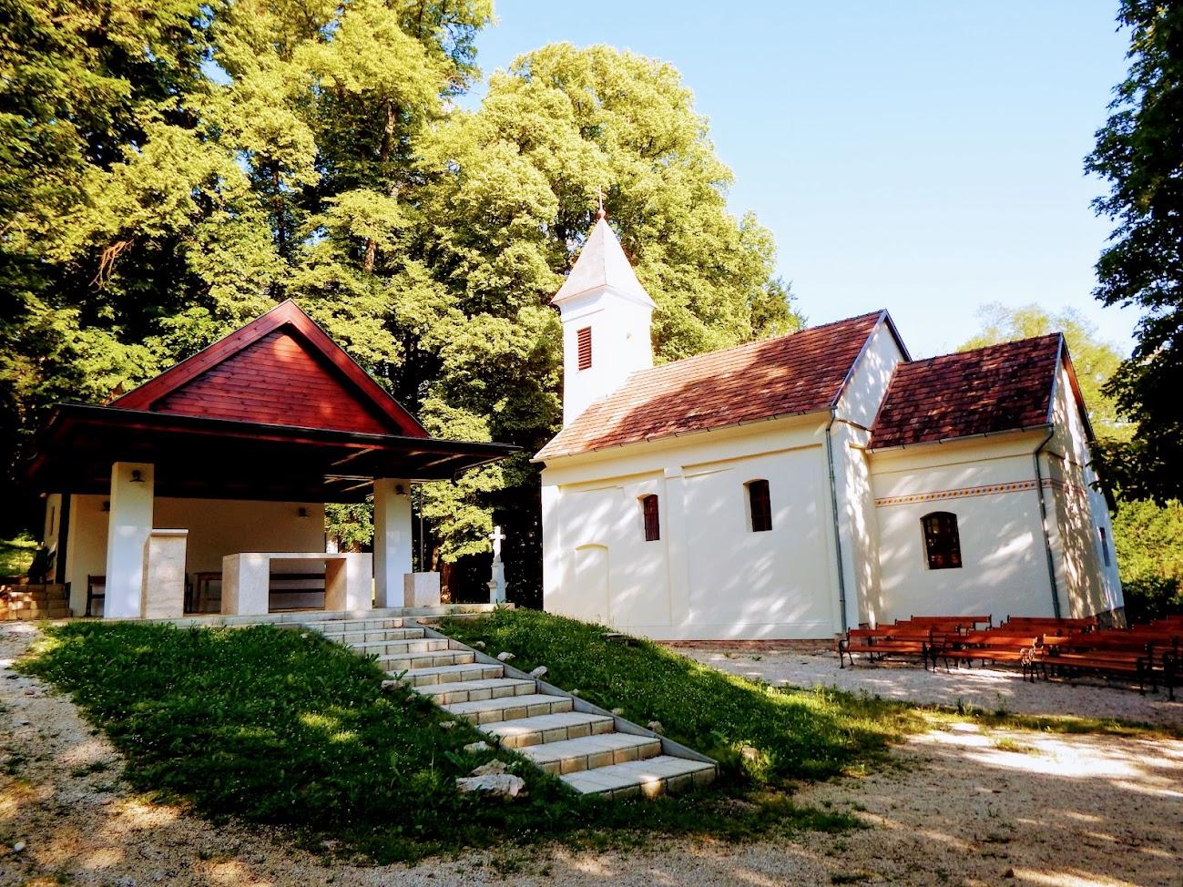 Zalahashágy - Pusztacsatári Nagyboldogasszony kegytemplom