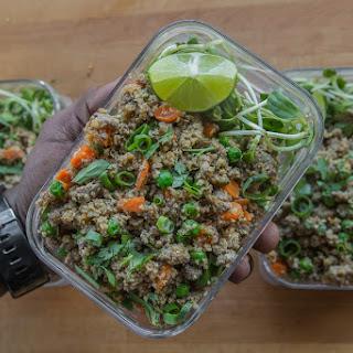 "Keto Lamb Fried ""Cauliflower"" Rice Meal Prep Recipe"