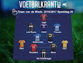 Meerder spelers van Eupen, Lokeren en Genk in het Team van de Week