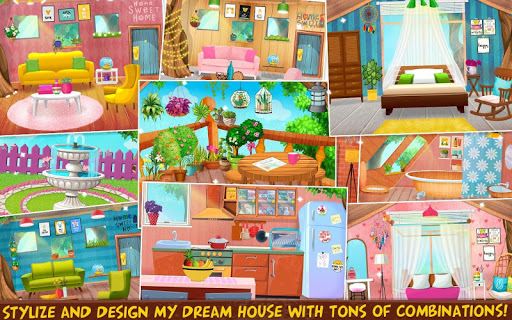 My Dream Home Makeover - Design Dream House  captures d'écran 1