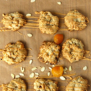 Apricot Almond Butterscotch Cookies.