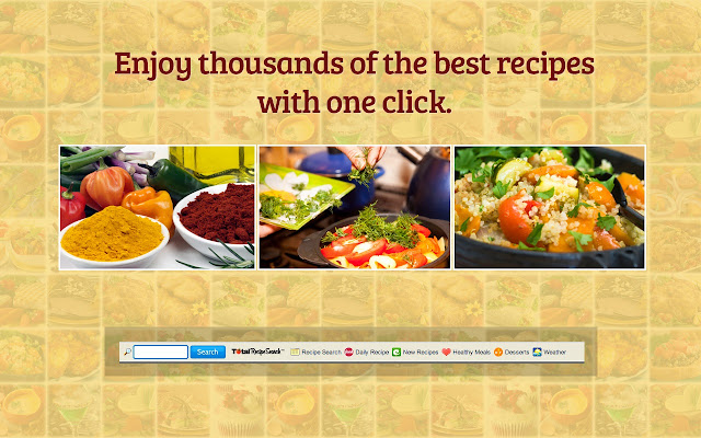 Totalrecipesearch chrome web store get 1000s of tasty recipes including healthy appetizers mouth watering entrees delectable desserts all in one convenient spot forumfinder