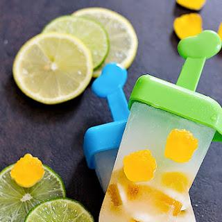 Lemon Lime Popsicles.