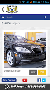 Captain Limousines screenshot 1