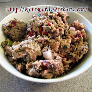 Gluten Free and Low Carb Turkey Stuffing.