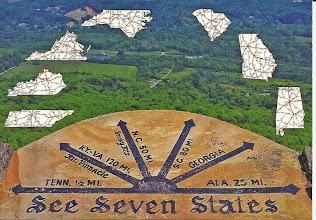 Photo: Seven States Overlook - Rock City TN