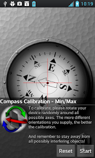 3D Ball Compass Screenshot