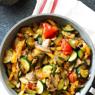 Easy Sauteed Vegetables.