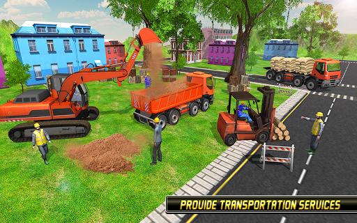 Heavy Excavator Simulator 2018 - Dump Truck Games screenshots 12