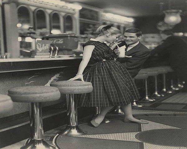 60's malt shop image