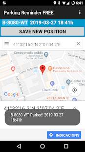 Parking Reminder FREE - náhled