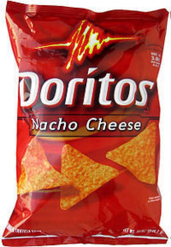 4.  Crush Doritos.
