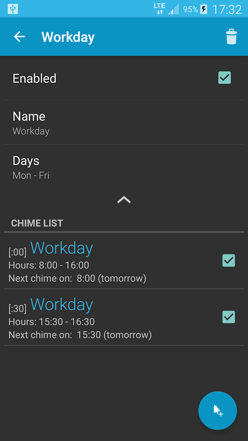 Hourly chime PRO- screenshot
