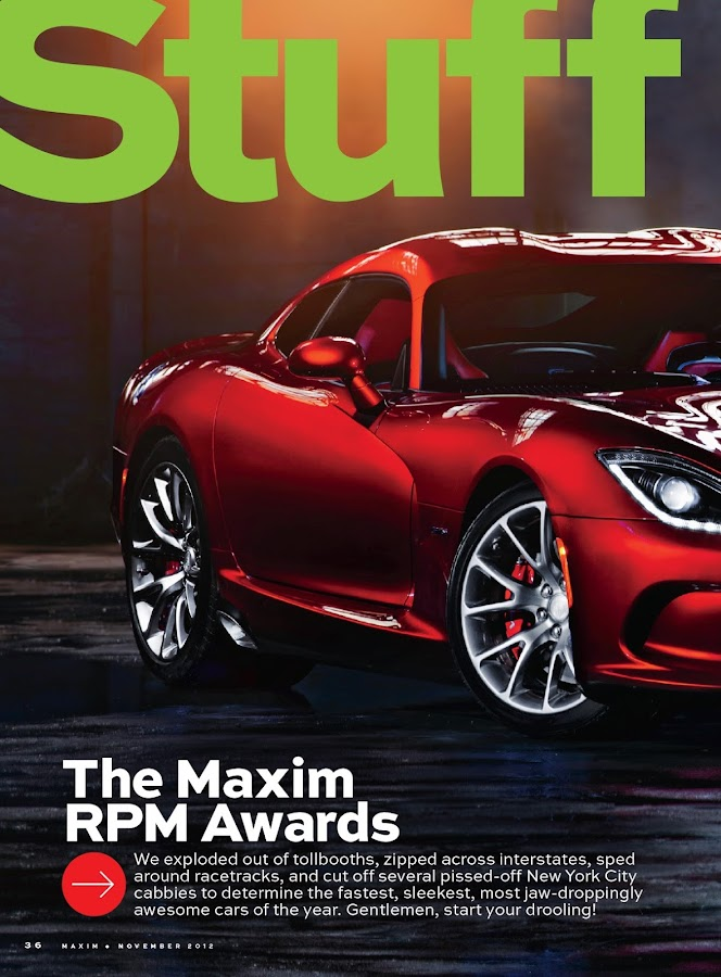 Maxim- screenshot