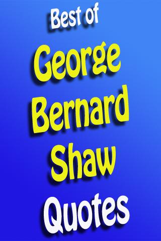 Top George Bernard Shaw Quotes