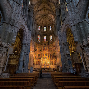 Cathedral of Avila by Joyce Chang - Buildings & Architecture Places of Worship ( europe, avilla, church, cathedral, spain )