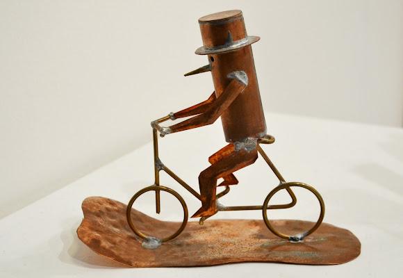 la bici  di malinowska