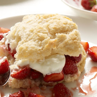 Strawberry Shortcake with Buttermilk Biscuits Recipe