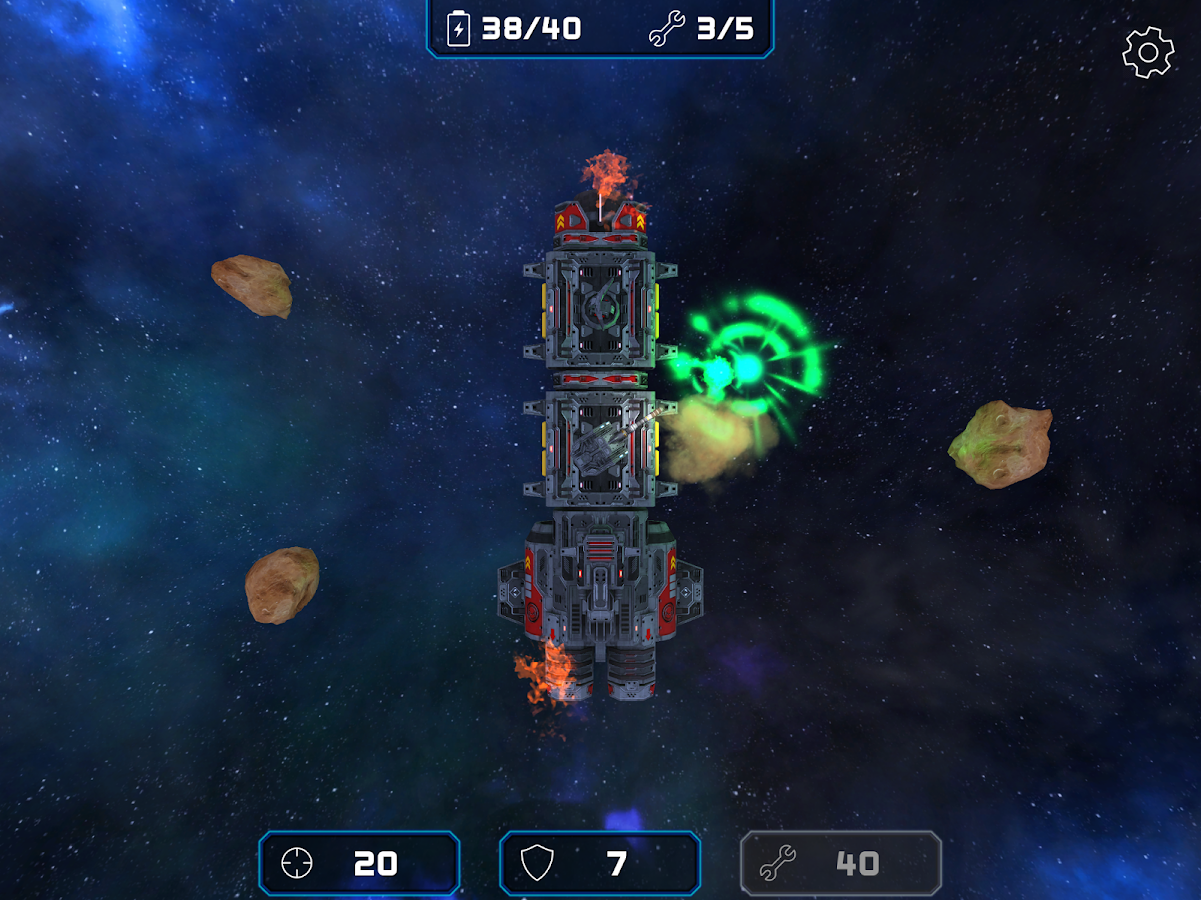 Asteroid Challenge: Free Survival Shooter Game- screenshot