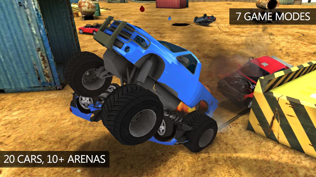car crash simulator extreme derby android apps on. Black Bedroom Furniture Sets. Home Design Ideas