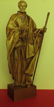 Photo: Św. Andrzej Bobola - misternie wykonana rzeźba w drewnie, wys. ok. 34 cm. Wykonał na zlecenie artysta z Siedlec, 2015 r.