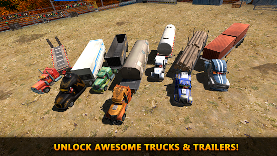 18 Wheeler Truck Crash Derby- screenshot thumbnail