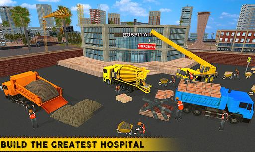 City Hospital Building Construction Building Games 1.1 Mod screenshots 2