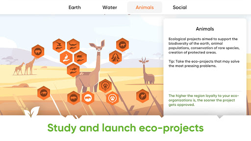 Save Earth.Offline ecology strategy learning game 1.2.002 screenshots 2