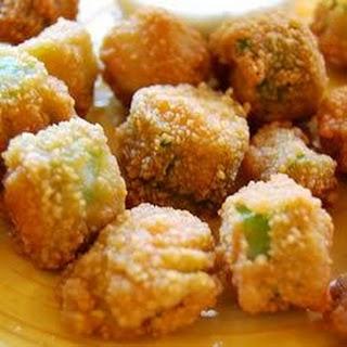 Fried Okra.