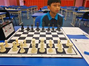Photo: My 1st opponent, Ryan Izzat from KK