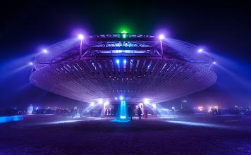 Photo: The Mothership at Burning Man 2013