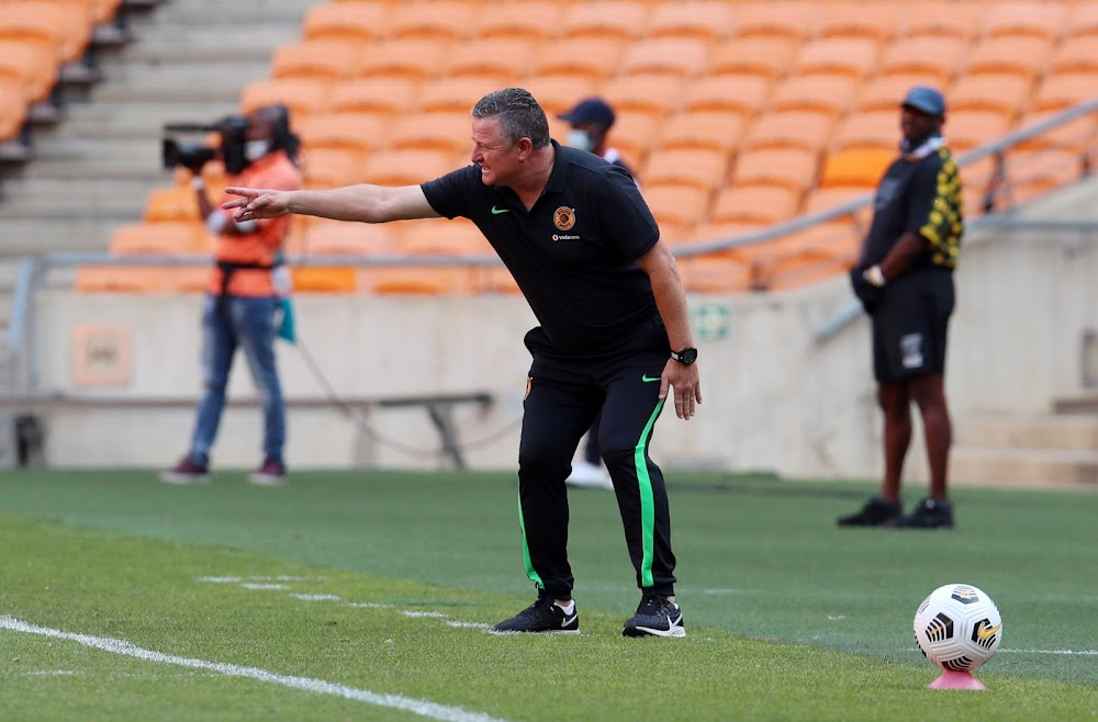 Hunt warns his Chiefs charges to guard against complacency: 'You can't relax because it's only halftime' - SowetanLIVE