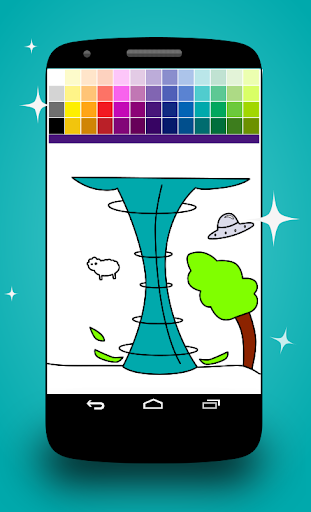 Twister Coloring Pages