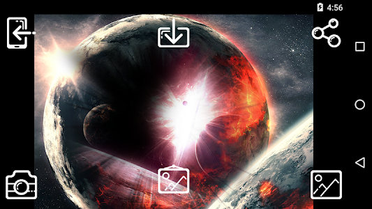 Outer Space Photo Frames screenshot 5
