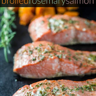 Broiled Rosemary Salmon.